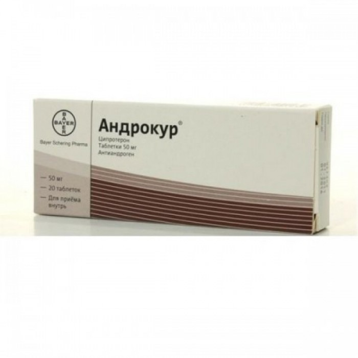 Androcur (cyproterone) tablets 50mg 20 tablets, 10mg 15 tablets,