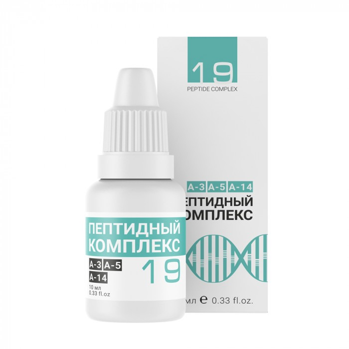 Peptide complex №19 — for meteodependent and cardio parients