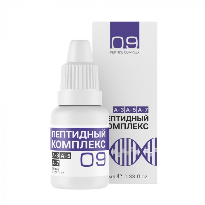 Peptide complex №9 — for male reproductive system