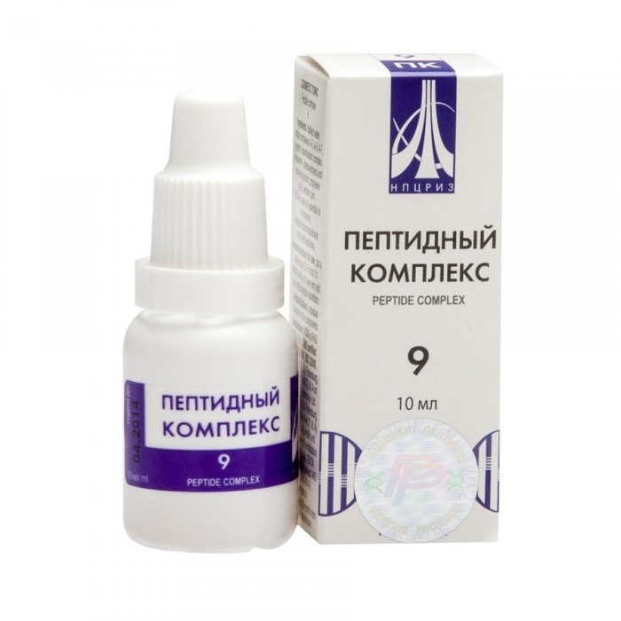 PEPTIDE COMPLEX 09 for male reproductive system, 10ml - Pharmaceutics