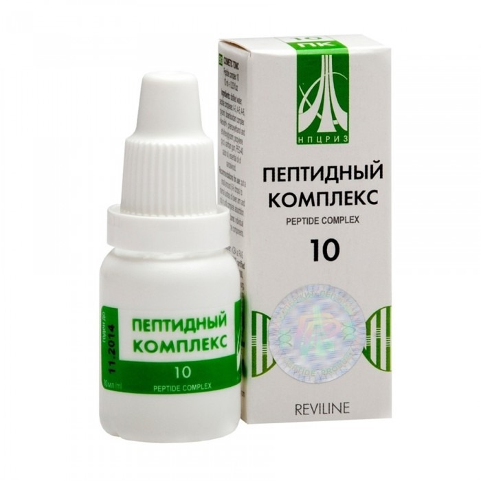 PEPTIDE COMPLEX 10 for female reproductive system, 10ml - Pharmaceutics