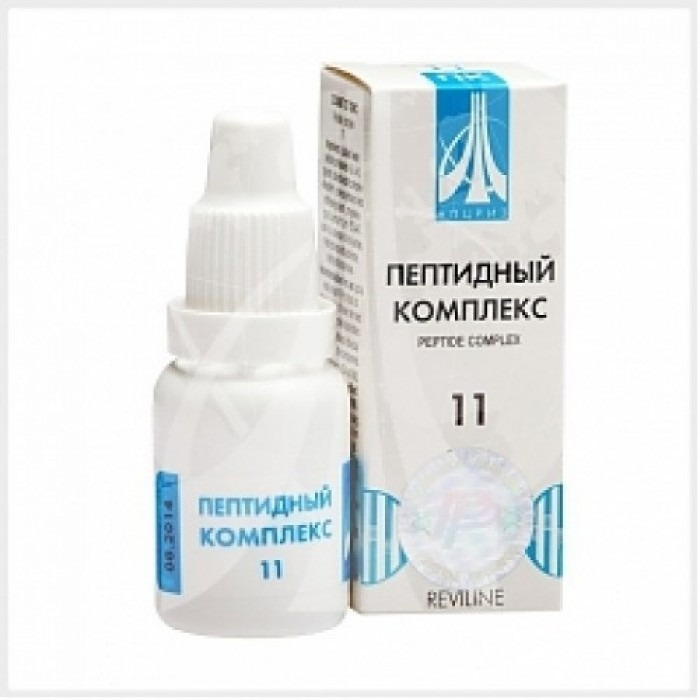 PEPTIDE COMPLEX 11 for the urinary system, 10ml/vial - Pharmaceutics