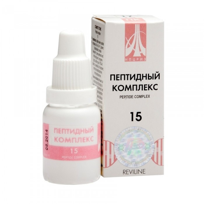 PEPTIDE COMPLEX 15 for kidneys and gall blader, 10ml - Pharmaceutics