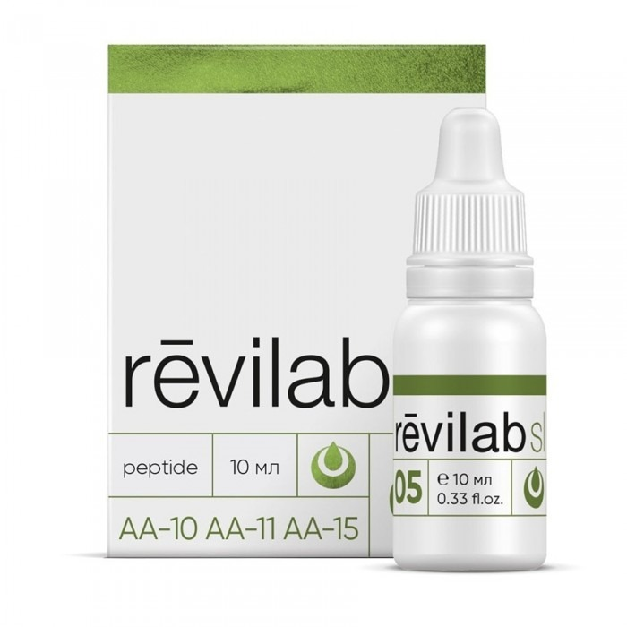 Revilab SL 05 for digestive system and lungs, 10ml/vial - Pharmaceutics